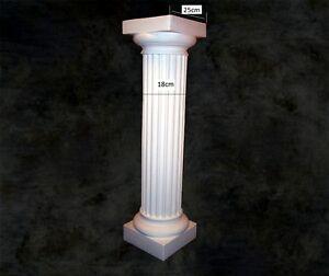 colonne dorique pilier st le deco platre arm staff h 1m tre diam 18cm neuf ebay. Black Bedroom Furniture Sets. Home Design Ideas