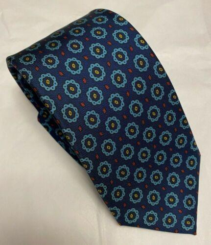 Drake's Silk Blue Tie