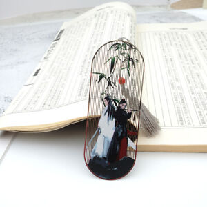 Grandmaster of Demonic Cultivation Wei Wuxian The Untamed Bamboo Metal Bookmark