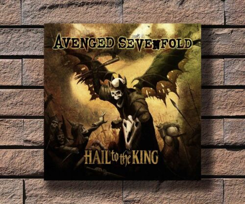 Y132 Avenged Sevenfold Rock Band Music Hot Fabric Poster 16x16 24x24