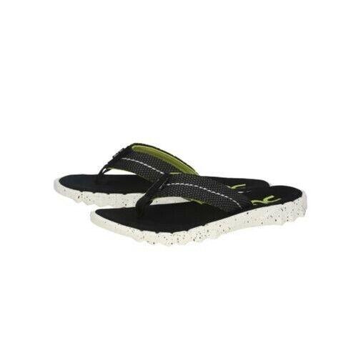 Dude Schuhe Unisex Flip-Flops Sparen Sie Sox Schwarz