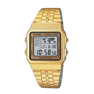 Casio-Classic-A500WGA-9DF-Gold-Stainless-Steel-Digital-World-Time-Watch