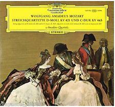 Mozart: String Quartets K 421,465 / Amadeus Quartett - LP DGG Tulip SLPM 139 190