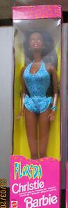 NRFB Vintage CHRISTIE AA FLORIDA #20536 l'amie de Barbie collector - France - État : Neuf: Objet neuf et intact, n'ayant jamais servi, non ouvert. Consulter l'annonce du vendeur pour avoir plus de détails. ... Marque: Mattel Caractéristiques: Ancien Age recommandé: 5+ Ere/ Année: 1998 - France