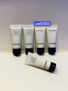 Chanel Hydra Beauty Micro Creme 0 17oz X 2 Blue Serum X 2 Hydra Beauty Gel Creme Ebay