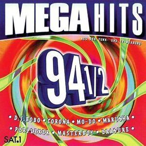 Mega-Hits-94-1-2-DJ-Bobo-Corona-Mo-Do-Marusha-Perplexer-Masterboy-2-CD