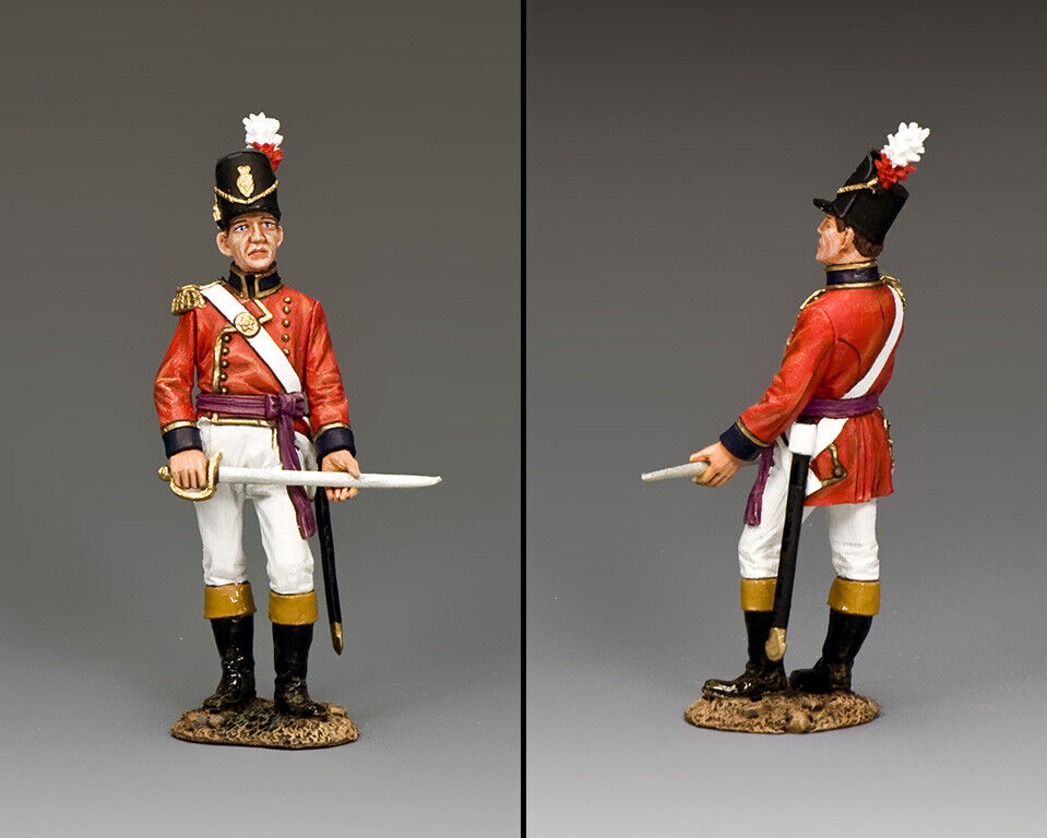 KING AND COUNTRY British Infantry Captain NA418