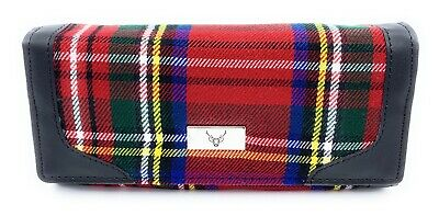 Women/'s Long Wallet Purse In Scottish Royal Stewart Tartan Boxed