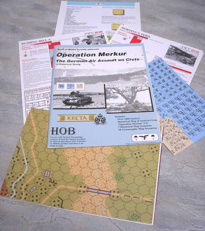 Historical ASL Heat of Battle Kreta - Operation Merkur