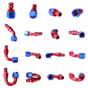 Push-Lock-Hose-End-Fitting-Adapter-4AN-6AN-8AN-10AN-12AN-for-Oil-Fuel-Hose-Line
