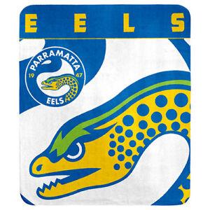 Parramatta-Eels-NRL-Polar-Fleece-Throw-Rug-Blanket-Mothers-Birthday-Fathers-Gift