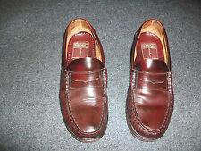 Zapatos mocasines castellanos color burdeos talla 41 marca Moore