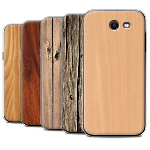 new style d468a a710e Details about Gel/TPU Case/Cover for Samsung Galaxy J3 2017/J327/Wood Grain  Effect/Pattern