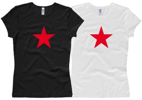 Roter Stern RED STAR XS bis XL Damenshirt // Girl // Woman Gr