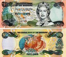 BAHAMAS - 0,50 - 1/2 Dollar 2001 FDS - UNC Queen Elizabeth II