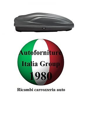BOX BAULE PORTATUTTO PORTABAGAGLI TETTO AUTO G3 MOD.ALL-TIME 400