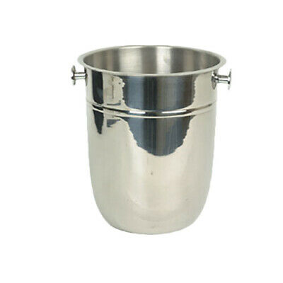 Stainless Ste Winco DWAB-L 2.3-Quart Insulated Double-Wall Angled Display Bowl