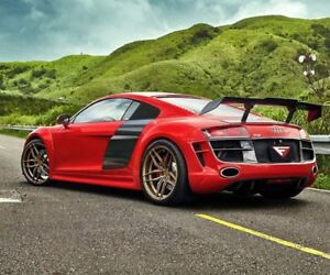 20 Ferrada Fr5 Matte Bronze Alloy Wheels Audi R8 Bmw I8 Lamborghini