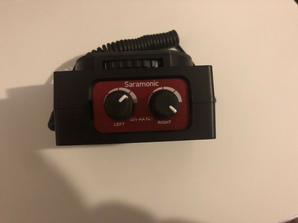 mikrofon-adapter til kamera, Saramonic SR-AX101