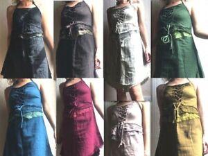 Hippy-boho-pixie-natural-cotton-summer-dress