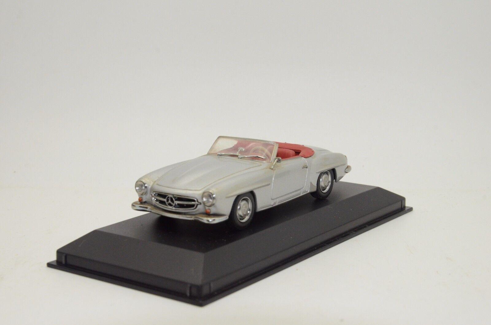 Raro Mercedes 190 Sl Cabrio 1955-62 Minichamps 033131 1 43