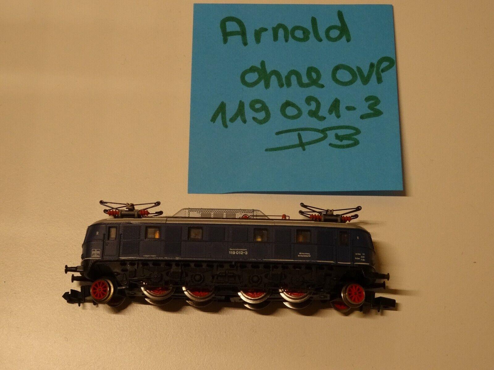 Arnold N Artikel   E-Lok BR 119 021-3 der DB     frisch gecheckt top