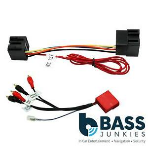 00 audi a4 wiring harness basic electronics wiring diagram Jeep Commander Wiring Harness audi allroad 00 06 bose car stereo speaker amplified bypass wiringimage is loading audi allroad 00