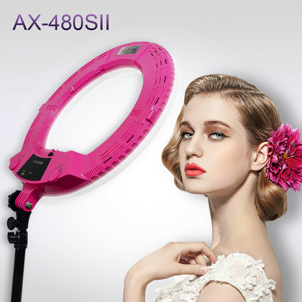 Yidoblo AX-480SII 48W 18'' Bi-color Dimmable LED Ring Light For Youtube Webcast