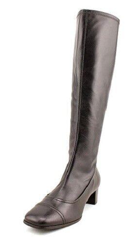 BCBGMaxazria Elda 3 brown leather boots sz 8 Med NEW  295 retail