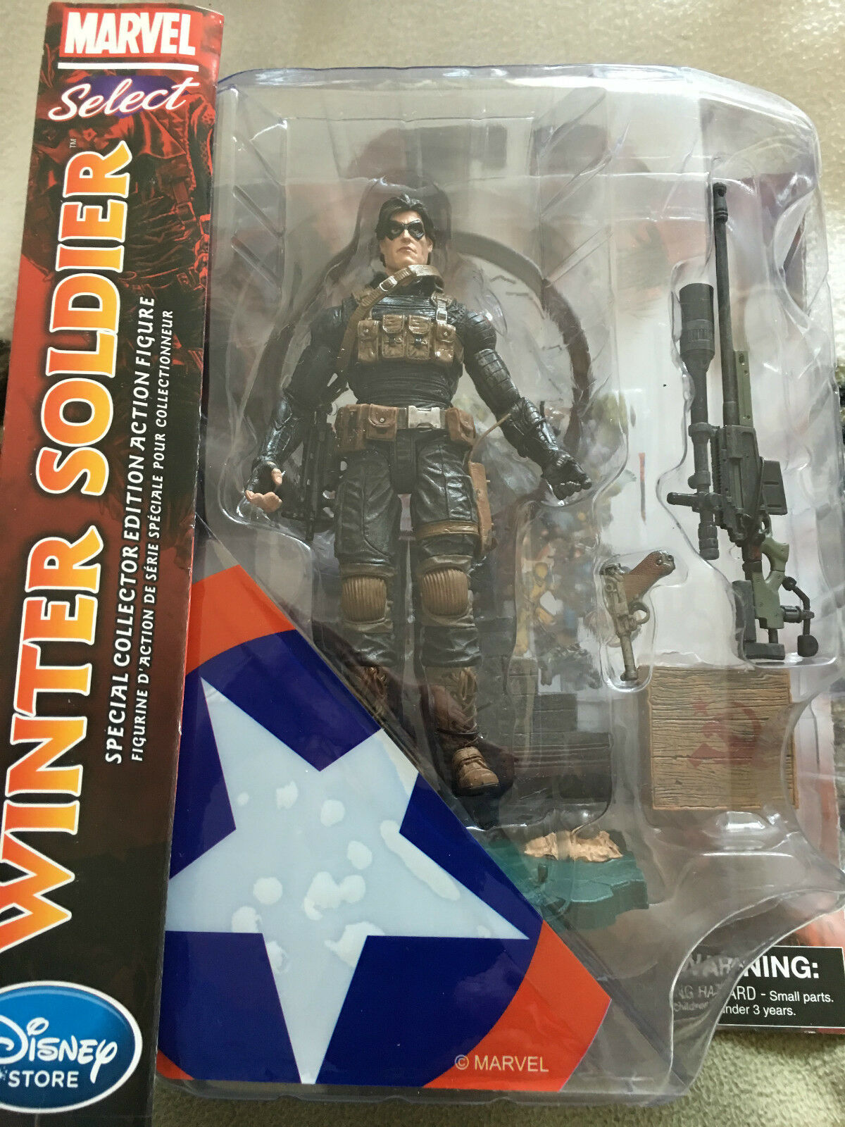 Marvel select  Winter soldier  special collector edition   6 inch figure set