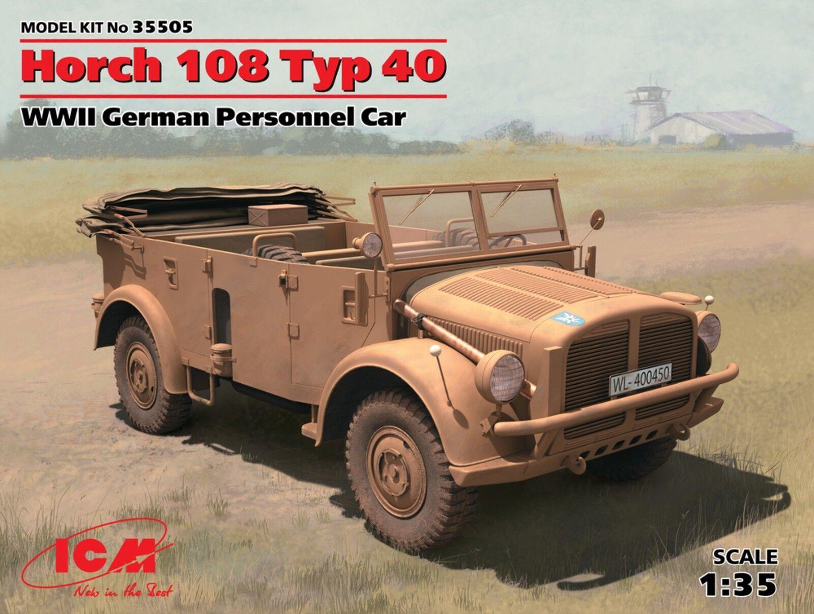 HORCH 108 TYP 40 (WEHRMACHT MARKINGS) 1 35 ICM