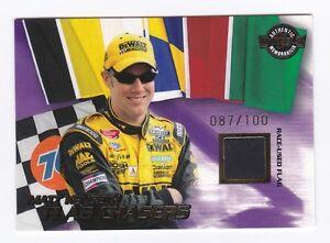 2004 High Gear FLAG CHASERS BLACK #FC9 Matt Kenseth BV$20! #087/100! SCARCE!