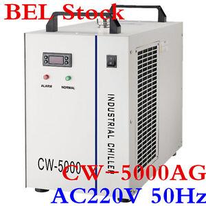 BEL-S-amp-A-AC220V-50Hz-CW-5000AG-Water-Chiller-for-80W-100W-CO2-Laser-Tube