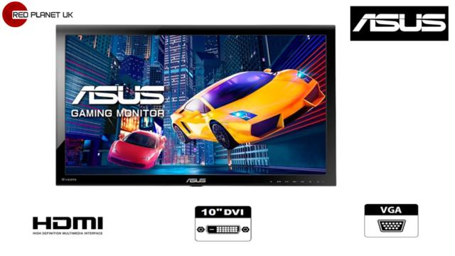 "ASUS  V Series VS278H 27""  Widescreen LED Monitor, built-in Speakers"