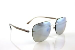 ecb5f6999a New Genuine Ray-Ban LightRay Transparent Brown Silver Sunglasses RB ...