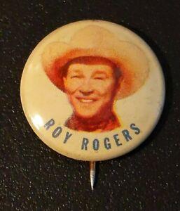 1953-Roy-Rogers-Cowboy-Post-Grape-Nut-Flakes-Stick-Pin-Button-U-S-A