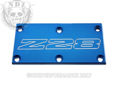 TPI Throttle Body Plate o Chevy Camaro IROC Z Z28 Outline Blue