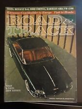 Road & Track Magazine February 1963 Turin Tokyo Show Reports Corvair AP