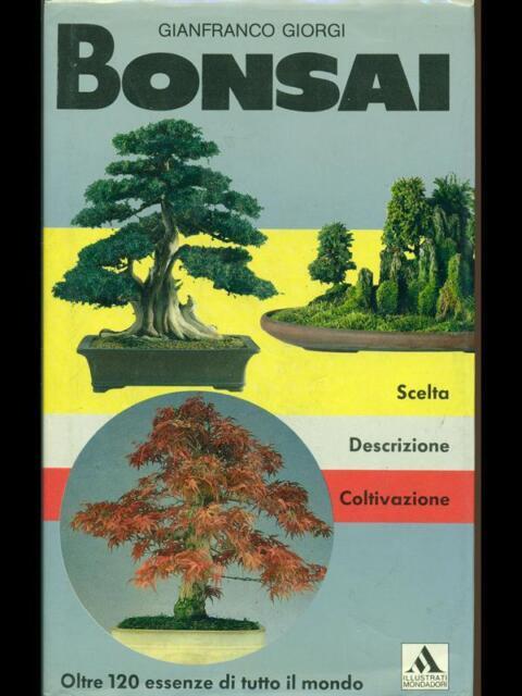 BONSAI  GIANFRANCO GIORGI MONDADORI 1992