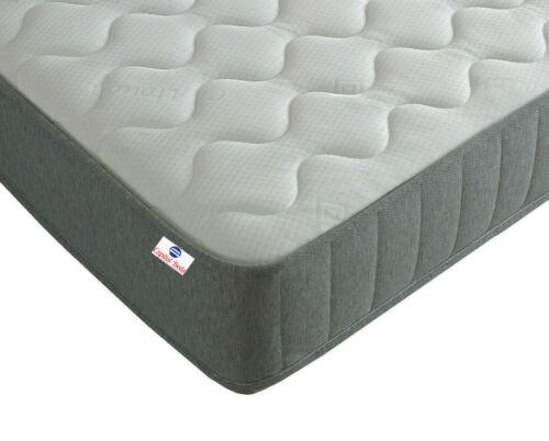 2ft6 Spring Mattress Shorty Memory Foam /& CoolBlue Mattress Single 3ft sizes