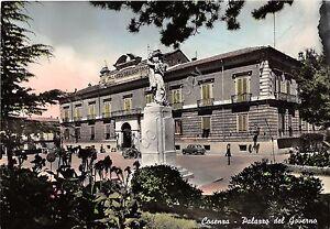 Cartolina-Postcard-Cosenza-Palazzo-del-Governo-anni-039-60-NVG