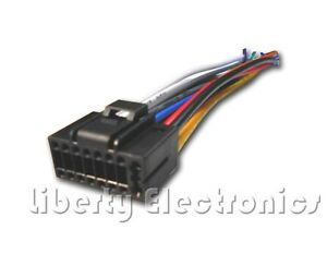 new 16 pin auto stereo wire harness plug for jensen vm9214bt  image is loading new 16 pin auto stereo wire harness plug