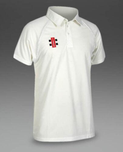 Gray Nicolls Matrix Ivory Trim Cricket Shirt Size XXS - XXXL