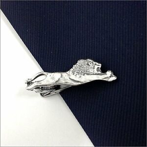 783b904c107f ISHOKUYA Unique Tie Clasps & Tacks Lion Shape Tie Clip/Pin/Bar New ...