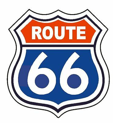 RT 66 Route 66 Sticker MADE IN THE USA D2877