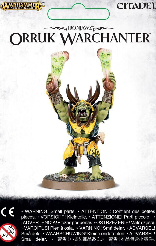 Ironjawz Orruk Warchanter Warhammer Âge de Sigmar Games Workshop GW Orcs Oruk