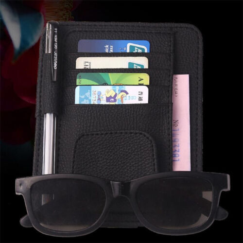 Auto Car Styling Organizer IC Card Clip Holder Storage Bag Sunglasses Clip Hot