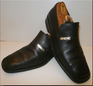 370c7593b GUCCI MENS UK 6.5 BROWN LEATHER LOAFERS BUSINESS SHOES US 7 EUR 40.5 ...