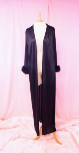 Vintage Frederick's of Hollywood Black Nightgown R