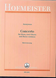Anonymus-Concerto-fuer-Horn-2-Oboen-und-Basso-continuo-Klavierauszug